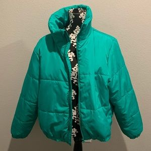 Wild Fable trap puffer jacket NWT